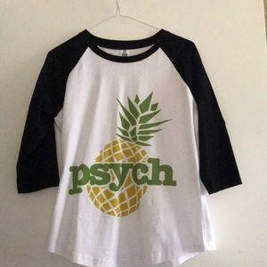 """New """"Pysch"""" tv show T-shirt Large"""
